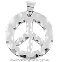Surgical steel CND pendant