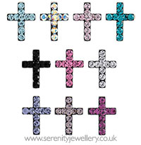 Studex Sensitive surgical steel cross earrings