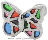 Vintage butterfly cartilage earring